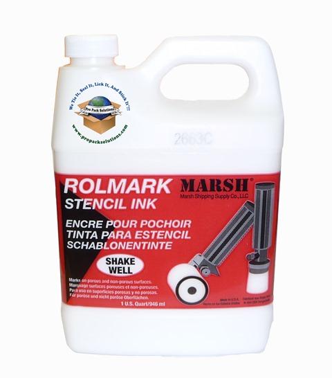 Marsh White Rolmark Ink Quart