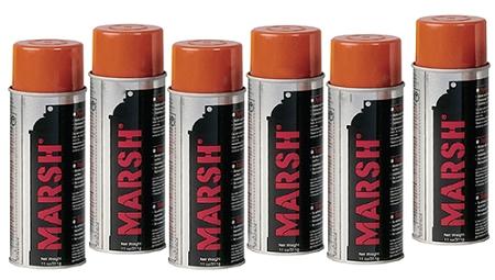 Marsh Orange Spray Stencil Ink By Air Hazmat