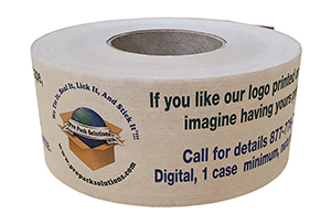 New Digital Printed Tape Delivers Your Message!