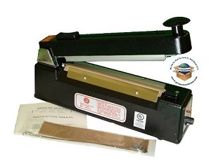 "12"" Arm Impulse Sealer with Cutter"
